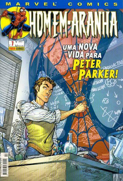 Cover for Homem-Aranha (Panini Brasil, 2002 series) #7