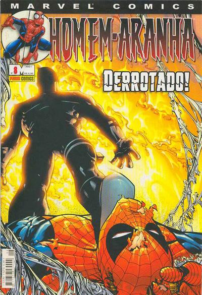 Cover for Homem-Aranha (Panini Brasil, 2002 series) #8