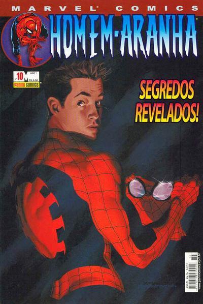 Cover for Homem-Aranha (Panini Brasil, 2002 series) #10