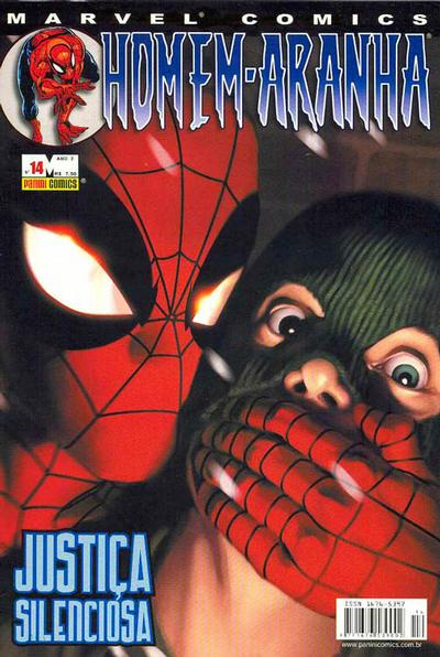 Cover for Homem-Aranha (Panini Brasil, 2002 series) #14