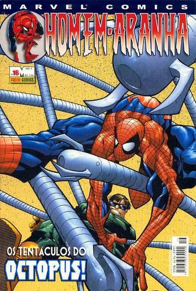 Cover for Homem-Aranha (Panini Brasil, 2002 series) #16