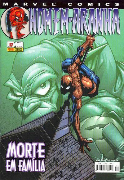 Cover for Homem-Aranha (Panini Brasil, 2002 series) #17