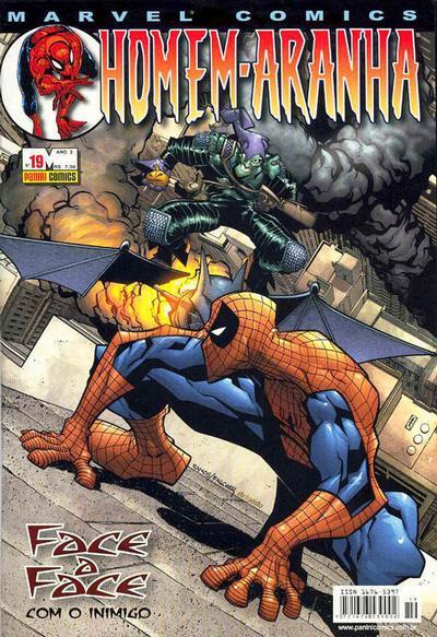 Cover for Homem-Aranha (Panini Brasil, 2002 series) #19
