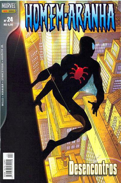 Cover for Homem-Aranha (Panini Brasil, 2002 series) #24