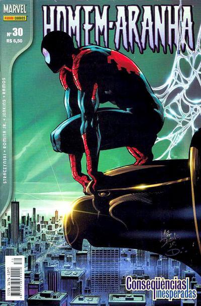 Cover for Homem-Aranha (Panini Brasil, 2002 series) #30
