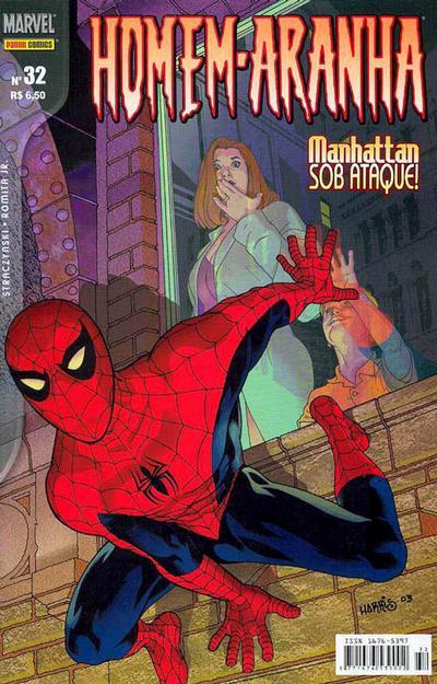 Cover for Homem-Aranha (Panini Brasil, 2002 series) #32