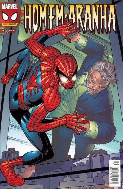 Cover for Homem-Aranha (Panini Brasil, 2002 series) #38