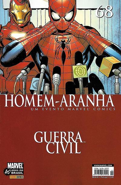 Cover for Homem-Aranha (Panini Brasil, 2002 series) #68