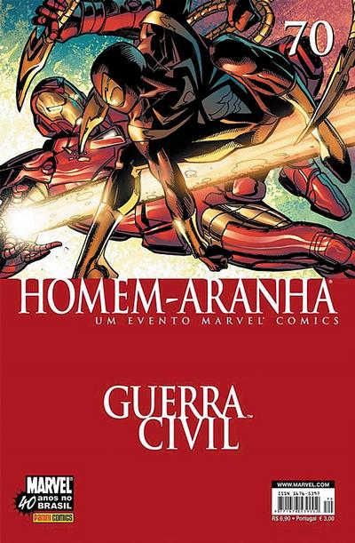 Cover for Homem-Aranha (Panini Brasil, 2002 series) #70