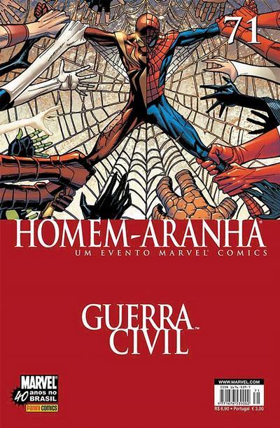 Cover for Homem-Aranha (Panini Brasil, 2002 series) #71