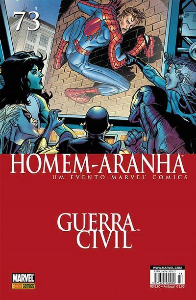 Cover for Homem-Aranha (Panini Brasil, 2002 series) #73