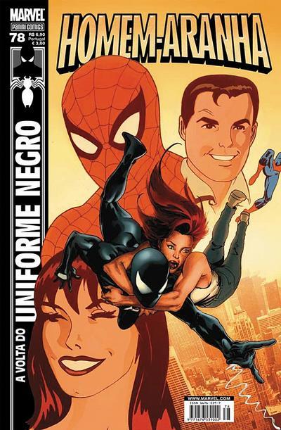 Cover for Homem-Aranha (Panini Brasil, 2002 series) #78