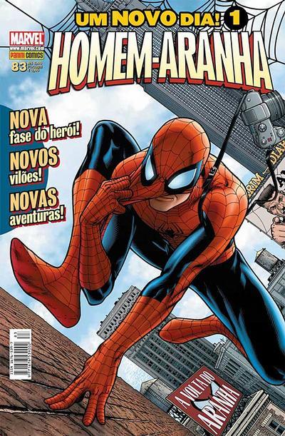 Cover for Homem-Aranha (Panini Brasil, 2002 series) #83