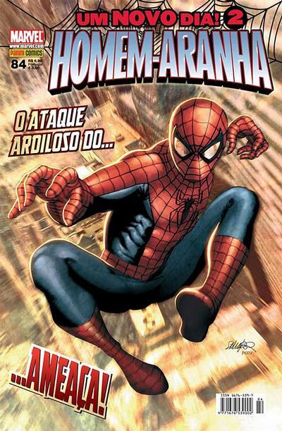 Cover for Homem-Aranha (Panini Brasil, 2002 series) #84