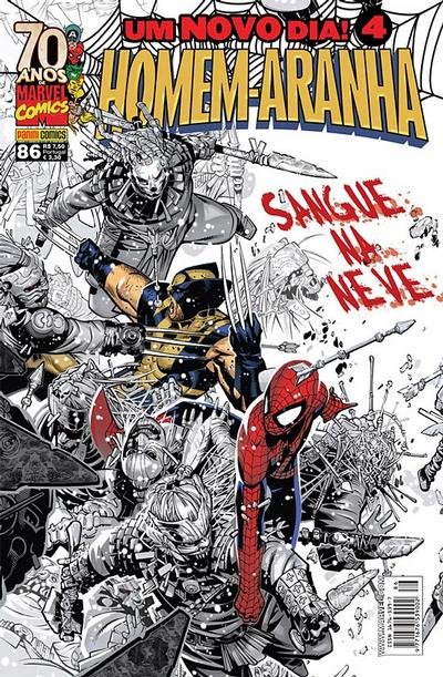 Cover for Homem-Aranha (Panini Brasil, 2002 series) #86