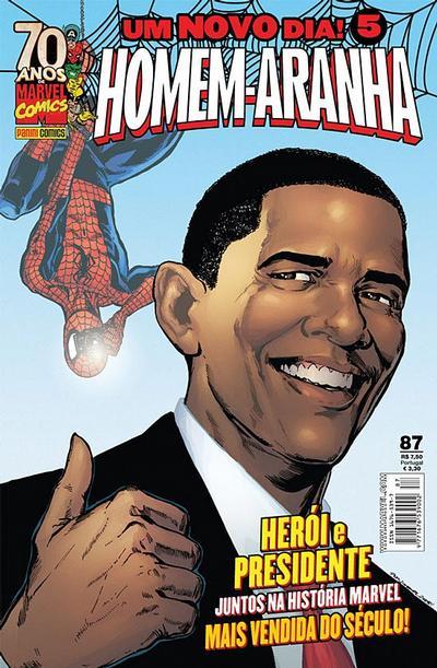 Cover for Homem-Aranha (Panini Brasil, 2002 series) #87