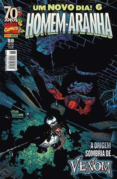 Cover for Homem-Aranha (Panini Brasil, 2002 series) #88