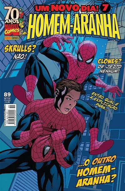 Cover for Homem-Aranha (Panini Brasil, 2002 series) #89