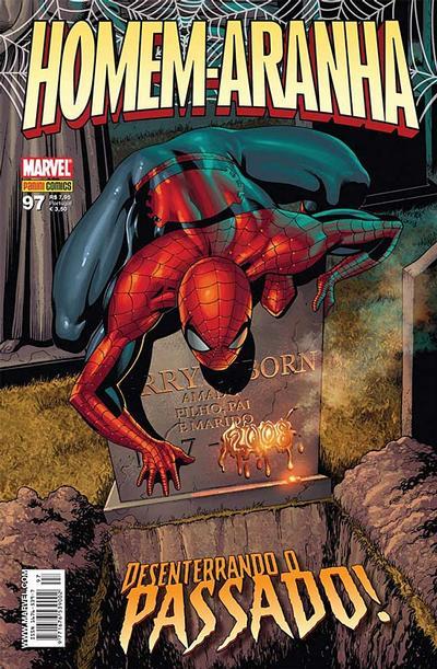 Cover for Homem-Aranha (Panini Brasil, 2002 series) #97