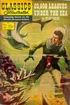 Cover for Classics Illustrated (Gilberton, 1947 series) #47 [HRN 128] - Twenty Thousand Leagues Under the Sea [painted cover]