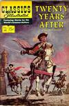 Cover for Classics Illustrated (Gilberton, 1947 series) #41 [HRN 156] - Twenty Years After [Painted Cover]