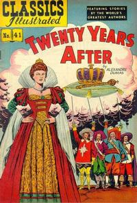 Cover Thumbnail for Classics Illustrated (Gilberton, 1947 series) #41 [HRN 62] - Twenty Years After