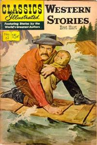 Cover Thumbnail for Classics Illustrated (Gilberton, 1947 series) #62 [HRN137] - Western Stories