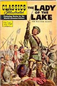 Cover Thumbnail for Classics Illustrated (Gilberton, 1947 series) #75 [HRN 139] - The Lady of the Lake