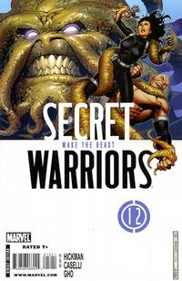 Cover Thumbnail for Secret Warriors (Marvel, 2009 series) #12