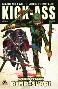 Cover Thumbnail for Kick-Ass (Marvel, 2008 series) #8