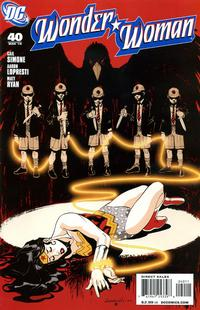 Cover Thumbnail for Wonder Woman (DC, 2006 series) #40