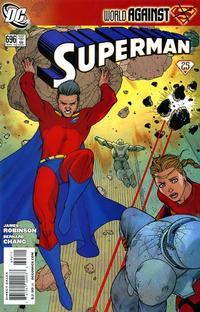 Cover for Superman (DC, 2006 series) #696