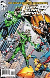 Cover Thumbnail for Justice League of America (DC, 2006 series) #41 [Cover A]
