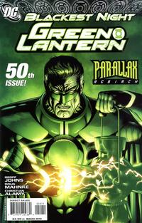 Cover Thumbnail for Green Lantern (DC, 2005 series) #50 [Standard Cover]