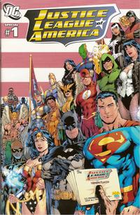 Cover Thumbnail for Justice League of America, Special (DC, 2009 series) #1