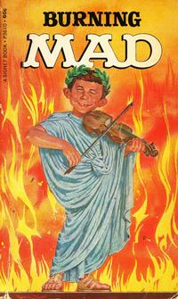 Cover Thumbnail for Burning Mad (New American Library, 1968 series) #P3610