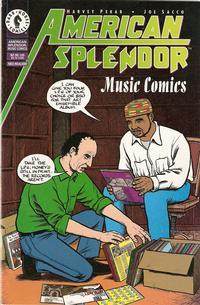 Cover Thumbnail for American Splendor: Music Comics (Dark Horse, 1997 series)