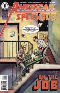 Cover Thumbnail for American Splendor: On the Job (Dark Horse, 1997 series)