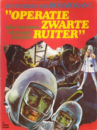 Cover for Bob Morane (Le Lombard, 1974 series) #1 - Operatie Zwarte Ruiter