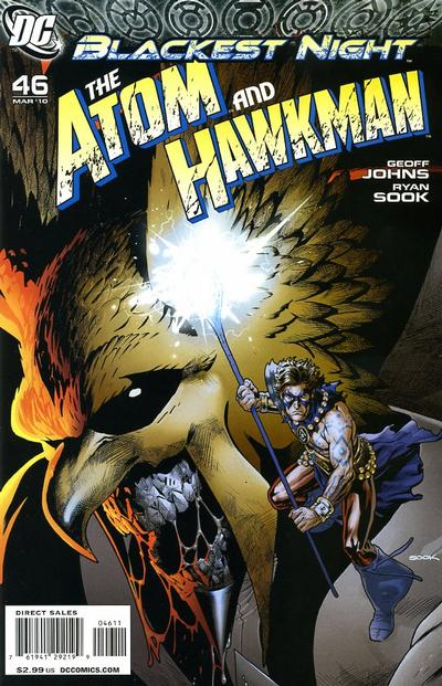 Cover for The Atom & Hawkman (DC, 2010 series) #46