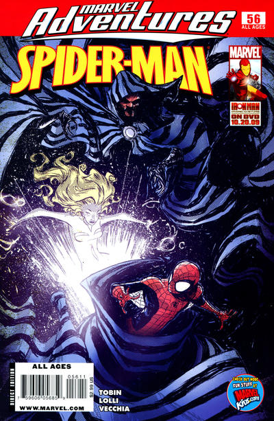 Cover for Marvel Adventures Spider-Man (Marvel, 2005 series) #56