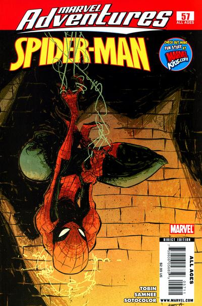 Cover for Marvel Adventures Spider-Man (Marvel, 2005 series) #57