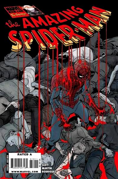 Cover for The Amazing Spider-Man (Marvel, 1999 series) #619