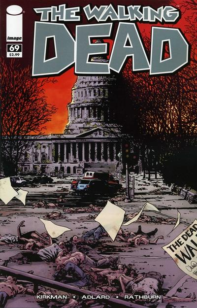 Cover for The Walking Dead (Image, 2003 series) #69