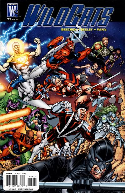 Cover for Wildcats (DC, 2008 series) #19