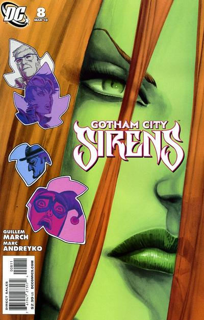 Cover for Gotham City Sirens (DC, 2009 series) #8
