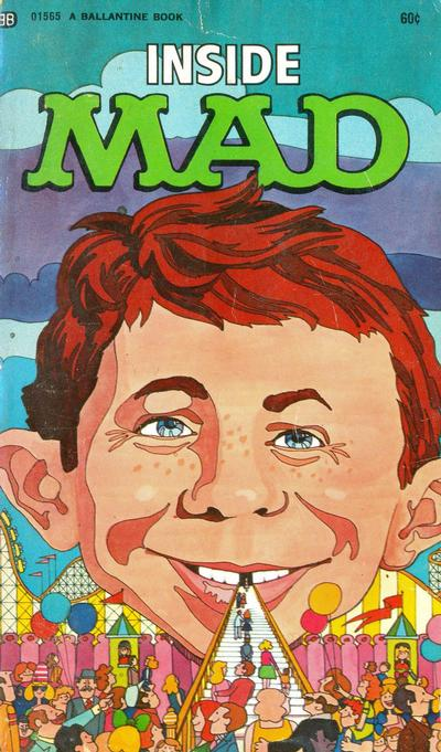 Cover for Inside Mad (Ballantine Books, 1955 series) #01565