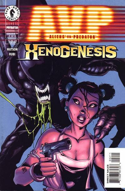 Cover for Aliens vs. Predator: Xenogenesis (Dark Horse, 1999 series) #2
