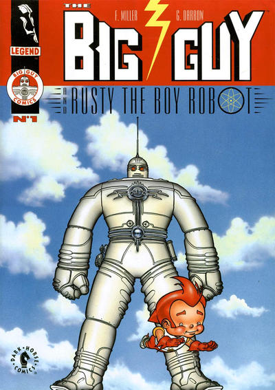 Cover for The Big Guy and Rusty the Boy Robot (Dark Horse, 1995 series) #1