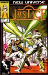 Cover for Justice (Marvel, 1986 series) #4 [Direct]